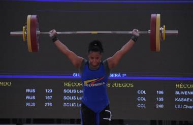 Mari Leivis Sánchez, colombiana ganadora del oro.