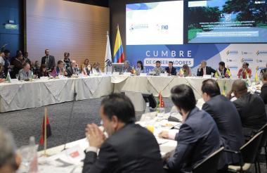 Vista de la Cumbre de la Federación Nacional de Departamentos.