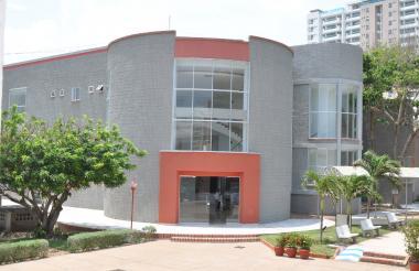 Nueva Biblioteca de la Universidad Libre.