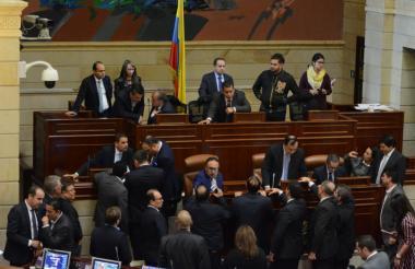 Elección de las comisiones en la Cámara.