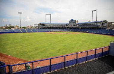 Diamante del Estadio de béisbol Édgar Rentería.