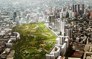 Render del proyecto que presentó la constructora Bolívar a la junta directiva de la empresa Edubar.