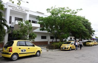 Aspecto de la fachada del hospital Niño Jesús de la ciudad de Barranquilla.