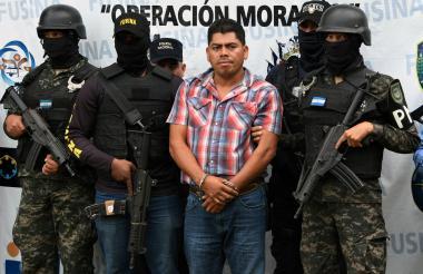 Arístides Díaz Díaz, presunto narcotraficante capturado.