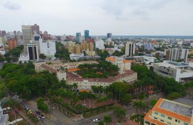 Vista panorámica del Hotel El Prado.