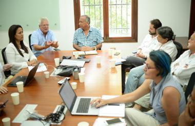La reunión entre Soledad y Triple A se realizó ayer.