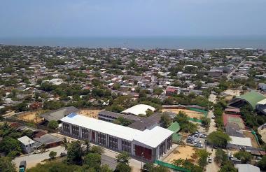 Panorámica del municipio de Puerto Colombia.