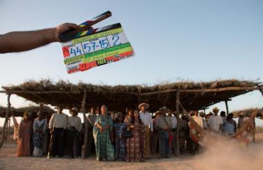 La película fue rodada en el desierto de La Guajira. La mayoría de actores fueron naturales.