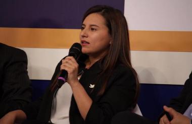 Rutty Paola Ortiz, superintendente de Servicios Públicos Domiciliarios.