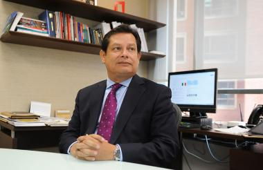 Clemente del Valle, presidente de la Financiera de Desarrollo Nacional.
