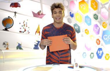 Sebastián Villalobos durante su presentación en el programa 'Nat Geo Lab' del canal 'Nat Geo Kids'