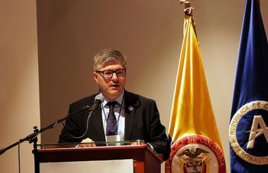 El director de la Aeronáutica Civil, Juan Carlos Salazar.