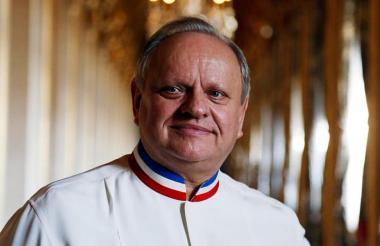 El reconocido chef Joël Robuchon.