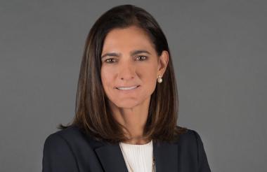 Ángela María Orozco Gómez, ministra de Transporte del gobierno del presidente Iván Duque.