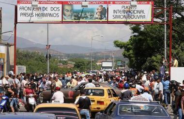 Frontera con Venezuela en Norte de Santander.