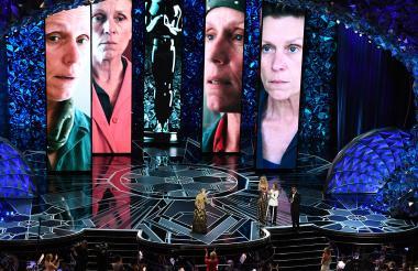 Gala de 2018 en la que Frances McDormand recibió el Premio Óscar a Mejor actriz protagónica por su papel en el filme 'Tres anuncios por un crimen'.