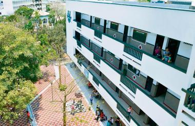 Fachada Universidad Simón Bolívar.