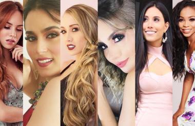 Las candidatas del Miss Mundo Colombia 2018, zona Caribe, que obtuvieron nuevos reconocimientos recientemente.