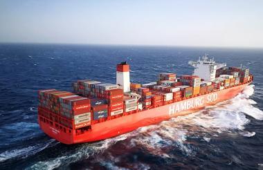 La nave 'Cap. San Tainaro', zarpó de Cartagena con una tripulación de origen búlgaro y fue 'contaminada' con una tonelada de coca.