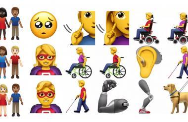 Algunos de los emojis preseleccionados para la versión 12.0 que llegará en el 2019.