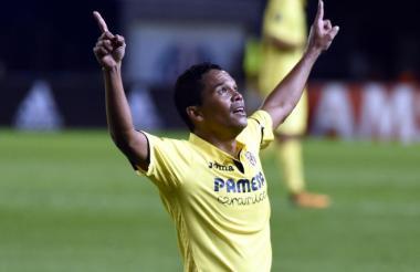 El porteño Carlos Bacca se quedaría en Villarreal.