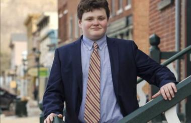 """Ethan Sonneborn se proclama como el candidato de las """"ideas correctas""""."""