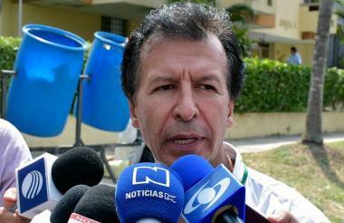 Presidente de la Red de Veedurías, Pablo Bustos.