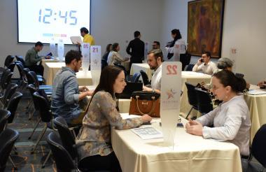En la ronda de negocios participaron empresas con presencia en la Región.
