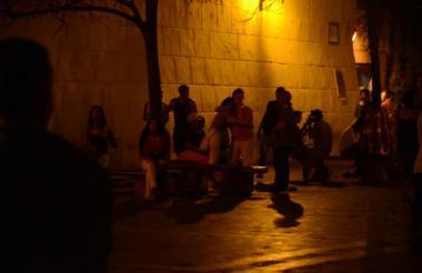 Los controles se realizan en toda la ciudad, en especial en el centro histórico de Cartagena.