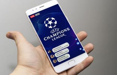 Los partidos se podrán ver a través del celular.