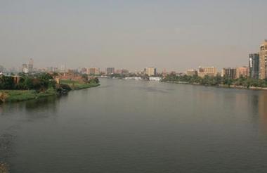 Vista del río más grande del continente africano.