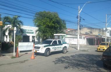 CAI del barrio La Paz.