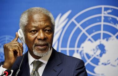 Kofi Annan, exsecretario de la ONU.