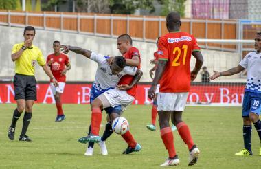 Barranquilla FC y Unión Magdalena protagonizaron ayer un duelo apretado en el Romelio Martínez.