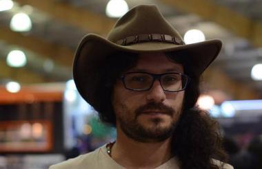 Daniel Ferreira, escritor nacido en San Vicente de Chucurí (Santander).