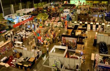 Panorámica de Sabor Barranquilla 2017, realizada en el Centro de Eventos y  Exposiciones del Caribe, Puerta de Oro.