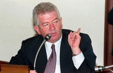 El ex senador Mario de Jesús Uribe Escobar, primo hermano del presidente Álvaro Uribe, fundador, del partido político Colombia Democrática.