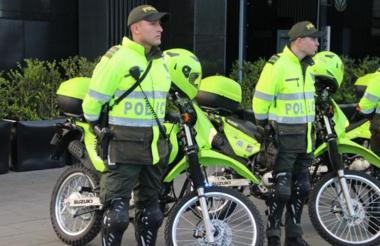 Las autoridades tienen dispuesta toda la fuerza policiva para la jornada electoral que vivirán los colombianos este domingo 26 de agosto.