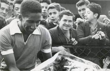 Delio 'Maravilla' Gamboa gozaba de gran admiración de parte de los aficionados al fútbol en Colombia.