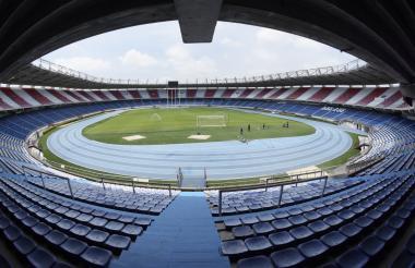 El estadio Roberto Meléndez muestra un gramado en mejor estado. Fue sometida a recuperación después de los Juegos B/quilla-2018.