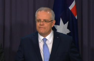 Scott Morrison, nuevo primer ministro de Australia.