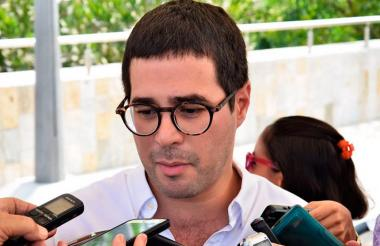 Clemente Fajardo, secretario de Gobierno Distrital de Barranquilla