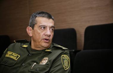 General Eliécer Camacho, coordinador del denominado 'Plan Democracia'.