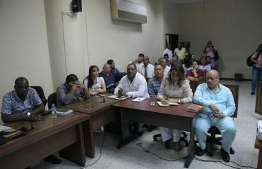 Políticos involucrados en escandalo de compra de votos a favor de senadora electa Aida Merlano.