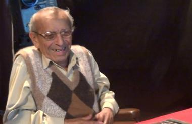 Reynaldo Naranjo en una entrevista con Ricardo Falla.