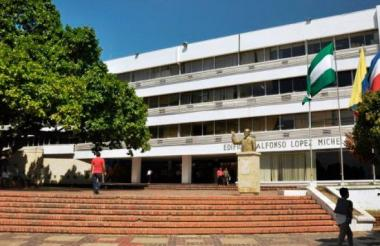 Sede administrativa de la Gobernación del Cesar, ubicada en Valledupar.