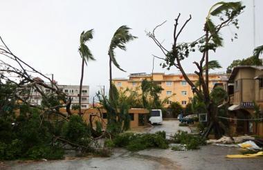 A su paso por la isla de Puerto Rico el huracán María causó grandes desastres.