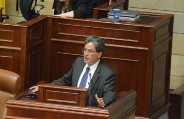 El ministro de Hacienda, Alberto Carrasquilla.