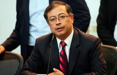 Gustavo Petro, excandidato presidencial.