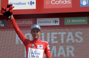 Rudy Molard, nuevo líder de la Vuelta a España.
